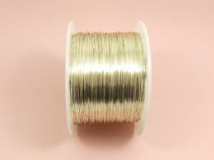 5M SILVER Tarnish Resistant COPPER Brass Artistic Craft Beading WIRE DIY 0.3-1MM