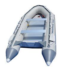 BRIS 12.5 ft Inflatable Boat Dinghy Raft Fishing Pontoon Power Boat  Zodiac