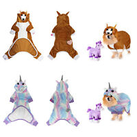 LaurDIY Pet Pajama for Dogs & Cats Licensed, breathable, Dog Bodysuit
