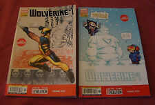 WOLVERINE 283 - MARVEL NOW # 1 COVER A + COVER B 2013
