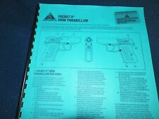 DETONICS,  POCKET 9,  9MM    OWNERS MANUAL,  5 PAGES
