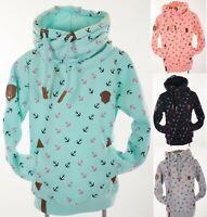 Kinder Kapuzenpullover Sweatshirt Hoodie warmer Fleece Pulli 140 - 158