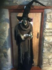 Life size Witch / Fortune Teller Halloween Party Haunted House Prop Decoration