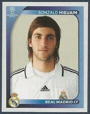 PANINI UEFA CHAMPIONS LEAGUE 2008-09- #447-REAL MADRID-GONZALO HIGUAIN