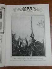 genre L ILLUSTRATION : WWI WAR GUERRE 14/18 : revue THE GRAPHIC 1916 Nr 2444