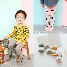 Cute Baby Toddler Girls Cotton Tights Socks Stockings Pants Hosiery Pantyhose L