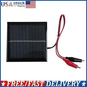 Mini 6V 3W Solar Panel System DIY Battery Cell Charger Module Charging Boar UK