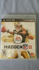 Madden NFL 11 Sony PlayStation 3 2010 PS3 Complete! Ships Free