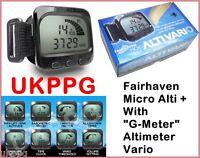 """Micro Alti + Misuratore Vario """" G """" Paramotor Ppg Parapendio Trike Gliding"""
