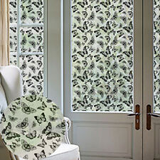 WO_ CN_ BUTTERFLY FROSTED PRIVACY WINDOW STICKER FILM BATHROOM HOME DECAL DECOR