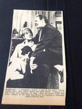 65-4 Ephemera 1966 Picture A Temporary Typist Robin Bailey Julia Foster Play Tv
