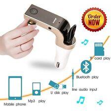 Wireless Bluetooth Car Kit FM Transmitter Radio MP3 Music Player USB Charger AUX