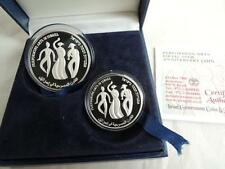 2007 Israel's 59th Anniversary Performing Arts PR+BU Silver Coins Set + box +COA