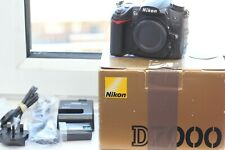 Nikon D7000 DSLR Camera Body Only boxed with accessories 96k Shots VGC