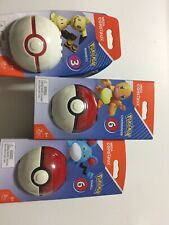 Mega Construx Pokemon Pokeball Mimikyu Building Set Lot Of 3