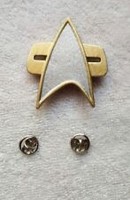 Star Trek TNG Next Gen Voyager Deep Space 9 First Contact Communicator Com Badge