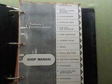 Alfa Romeo Giulietta Sprint Used Photo Copy Factory Shop Manual & Specifications