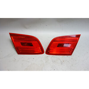 Damaged 2007-2010 BMW E92 3-Series Coupe Rear Inner Tail Light Lamp Pair OEM