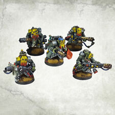 Ork War2 Burner Troop Orc Incinerator Team (5) Kromlech