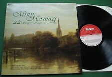 Misty Mornings 22 Songs of Hope Judy Collins Burl Ives Cliff Abba + RTL 2066 LP