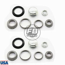 2 Sets Rear Wheel Bearing Kit For VW Golf Jetta Cabrio Rabbit Corrado Passat US