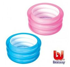 Piscina redonda hinchable 3 anillos Bestway para niños 70 x 30 cm inflable