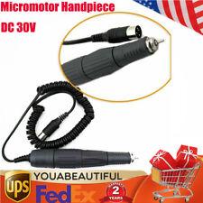 Dental Lab 45krpm Micromotor Handpiece Sde Sh37ln Polisher N8 Marathon Style Us