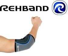 Rehband Core Line Elbow Sleeve 5mm Grey Medium Single