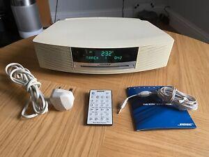 Bose AWRCC6 Wave Music System CD Player, AM/FM Radio, Remote Control Alarm