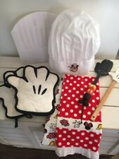 Walt Disney Mickey Cooking Items Apron, Chef Hat, Dish Towels, Spatulas,OvenMits