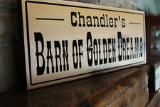 Personalized Custom Wood Sign Carved Plaque Name Home Decor Cedar Wooden Signs