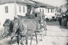 SCUTARI c. 1940 - Fiacre  Cocher  Albanie  - DIV 9790