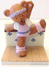 Vintage Dancing Ballet Bear Ceramic UOGC Fraser & Co. 1984 Teddy Bear