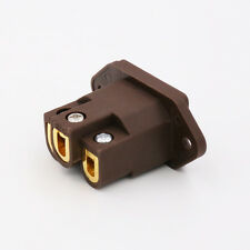 High Quality Pure Red Copper IEC Gold Plated Furutech Style IEC Inlet AC socket