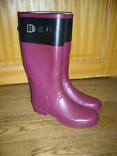 bottes de pluie caoutchouc P40 bicolores