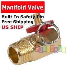Air Tank Manifold Valve w/ Fill Port  Bypass Pneumatic Compressor Kit A402