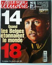 Le Soir illustré du 11/11/1998 Dossier 14/18 / Julio Iglésias / Redford/ Miss