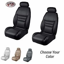 F & R Seat Upholstery, 1994-96 Mustang GT, Cobra Convertible -  Any Color + Foam