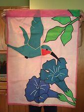 Hummingbird Yard Flag