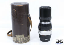 Nikon 200mm F4 pre AI Nikkor Q Auto Scalloped Fast primo LENS 205104