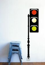 Dream Wall Decal Traffic Light NEW Lighted Wall Decal