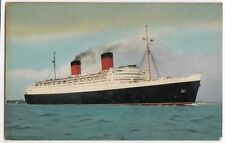 Liner RMS 'Queen Elizabeth' PPC, By Salmon, Southampton 1966 PMK To Poole, GB