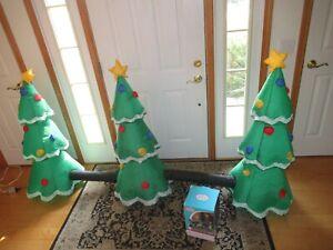 Airblown Inflatable SINGING LIGHTSYNC CHRISTMAS TREE Set New Light Show (FF117)