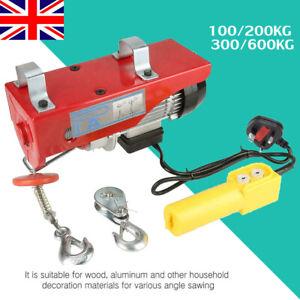 100-600KG AC/220V Electric Winch Workshop Garage Hoist Scaffolding Hoist Lifting