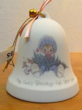vintage precious moments small bell