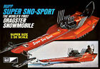 MPC  RUPP SUPER SNOW SPORT SNOWMOBILE DRAGSTER 1/20 Scale
