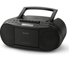 Sony CFD-S70 CD MP3 FM/AM Radio Cassette Player Recorder Portable Stereo CFDS70