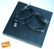 BLACK USB 2.0 To IDE Laptop CD DVD RW Rom External