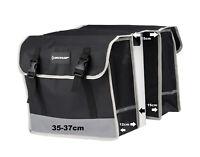 Dunlop Gepäckträgertasche Fahrradtasche wasserabw. Seitentasche Satteltasche