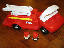 Vintage Little Tikes firetruck engine men people